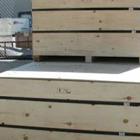 prefabricated crate